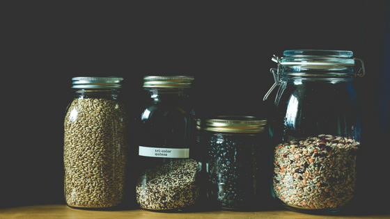 reducing-plastic-zero-waste-glass-jars