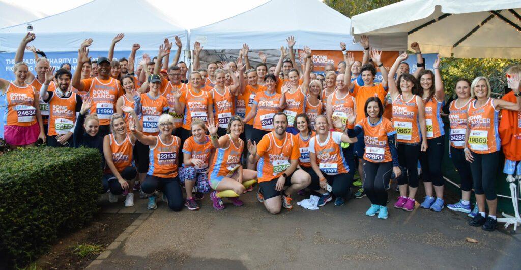 Bone Cancer Research Trust marathon runners